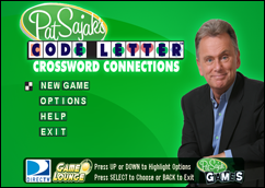 Pat Sajak's Code Letter Crossword Connections